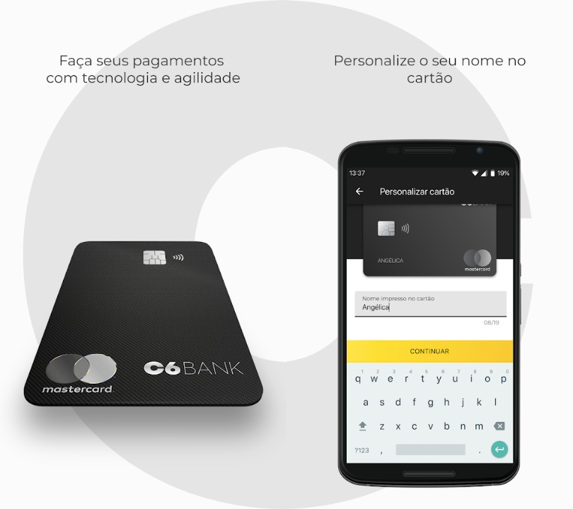 Cartão Virtual C6 Bank