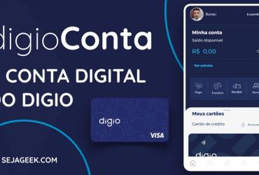 digioConta a Conta Digital do Digio