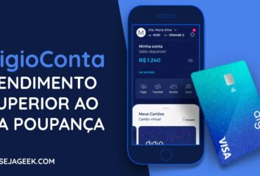 A Conta Digital do Digio agora rende automaticamente 100% do CDI