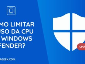 Como limitar o uso da CPU no Windows Defender?